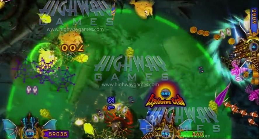 king-of-treasures-arcade-machine-explosion-crab-Gameplay1