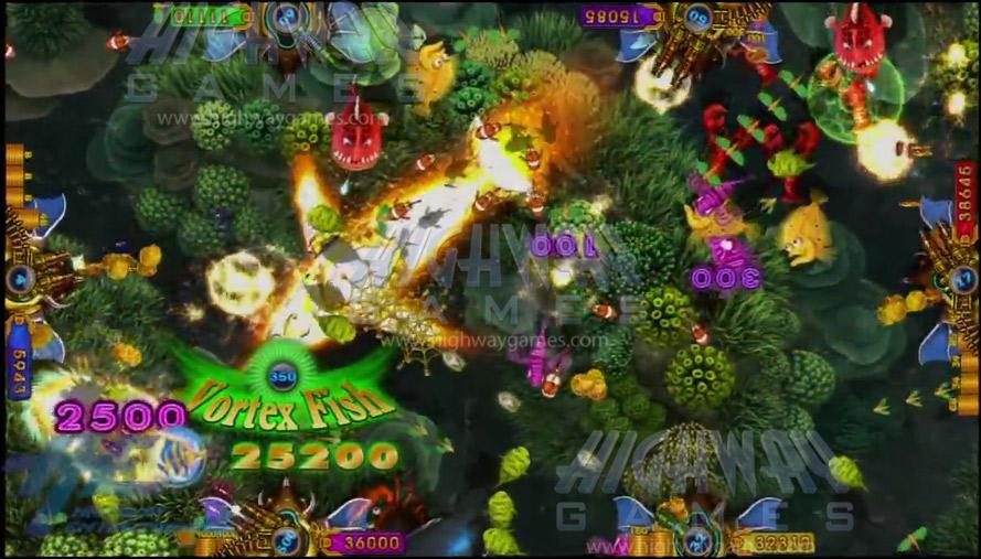 king-of-treasures-arcade-machine-vortex-fish-Gameplay-1