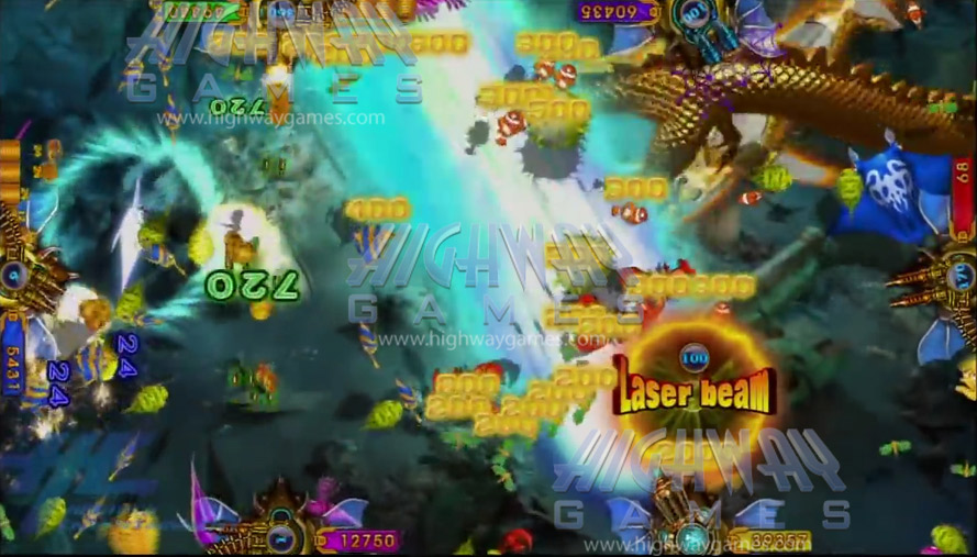 king-of-treasures-plus-arcade-machine-laser-crab-Gameplay-5